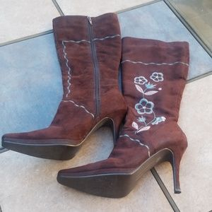 Chinese Laundry Tall Brown Boots